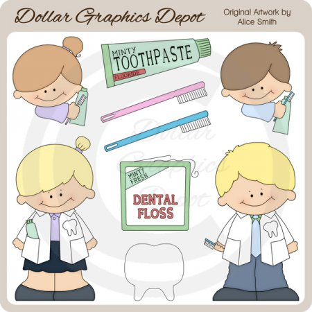 Dentist - Clip Art - *DGD Exclusive*