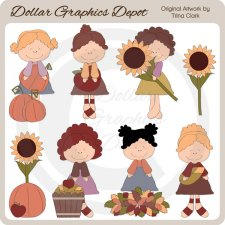 Fall Fancies 1 - Clip Art