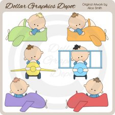 Planes - Clip Art - *DGD Exclusive*