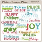 Sweet Holiday Word Art
