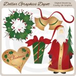 Christmas At Heart - Clip Art