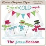 Baby It's Cold Outside - Clip Art
