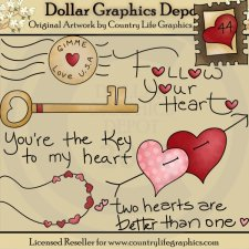 Follow Your Heart - Clip Art
