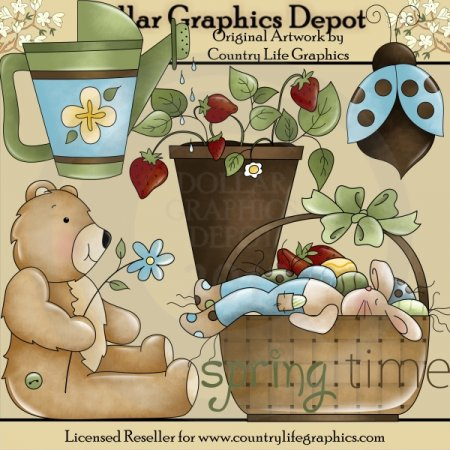 Spring Time - Clip Art