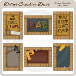 The Best Dad Ever Cards