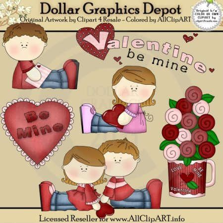 Be My Valentine - Clip Art