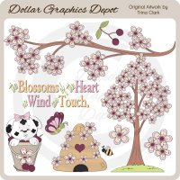 Blossoms Of The Heart - Clip Art