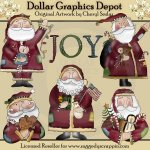 Folkart Santa - Recolored - *DGD Exclusive*