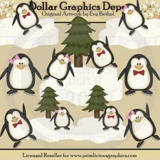 Winter Penguins 2