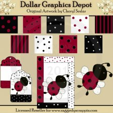 Sweet Ladybug Craft Set