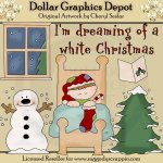 Dreaming Of A White Christmas - Clip Art