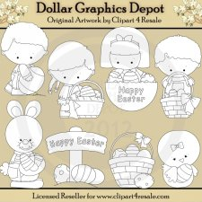 It's Easter - Digital Stamps - *DGD Exclusive*
