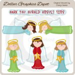Hark The Herald Angels Sing - Clip Art