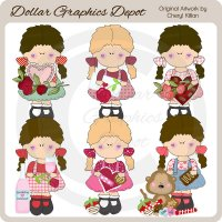 Sherry Lee - Valentine Wishes - Clip Art - *DCS Exclusive*