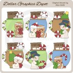 Holiday Friends Cocoa - Clip Art - *DGD Exclusive*
