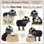Baa Baa Black Sheep - Clip Art