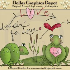 Leapin' For Love - Clip Art