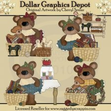 Prim Crafter Bears - *DGD Exclusive*