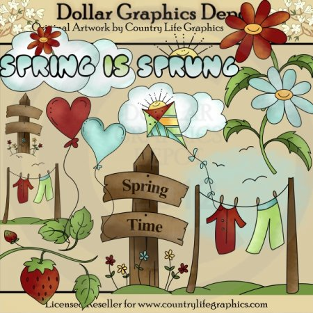 Spring Is Sprung 1