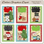Christmas Littles Greeting Cards