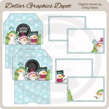 Chilly Weather - Recipe Card Set