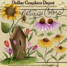 Nature's Colors - Clip Art