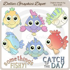 Fish Of The Sea - Clip Art