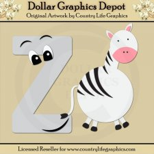 Alphabet Letter Z - Cutting Files / Paper Piecing Patterns