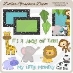 Little Jungle - Clip Art