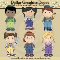 Bib Overall Kids 2�- *DCS Exclusive*