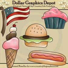 God Bless This Food - Clip Art