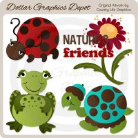 Nature's Friends - Clip Art