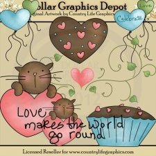 Celebrate Love - Clip Art