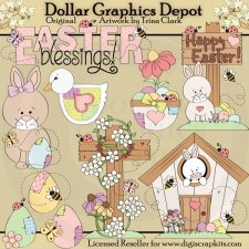 Easter Time 1 - Clip Art
