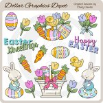 Happy Easter - Clip Art