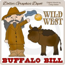 Buffalo Bill - Clip Art