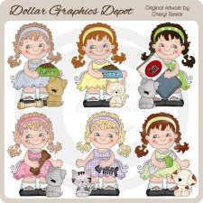 Sweet Sally - Pets - Clip Art - *DGD Exclusive*