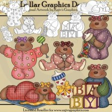 Blissful Baby Bears - Combo Set