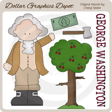 George Washington - Clip Art