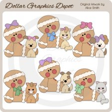 Ginger Pets - Clip Art - *DGD Exclusive*