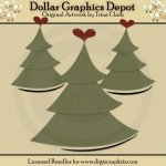 Christmas Trees - Cutting Files / Paper Piecing Patterns