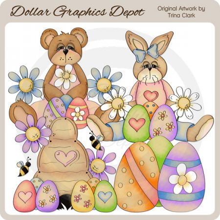 Easter Splash 2 - Clip Art