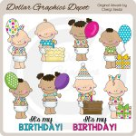Baby Sprouts - Birthday - Clip Art