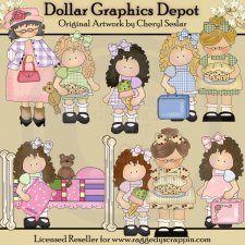 Gertie Goes to Grandma's- Clip Art