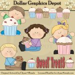 Sweet Treats - Clip Art