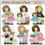 Big Sister Penelope - Clip Art - *DGD Exclusive*