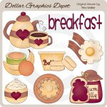 Breakfast Time - Clip Art