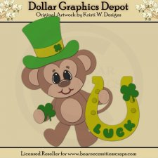 Irish Monkey 3 - Cutting Files / Paper Piecing - *DCS Exclusive*
