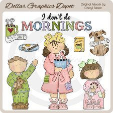 Morning Molly - Clip Art