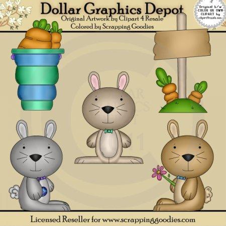 Billy Bunny - Clip Art